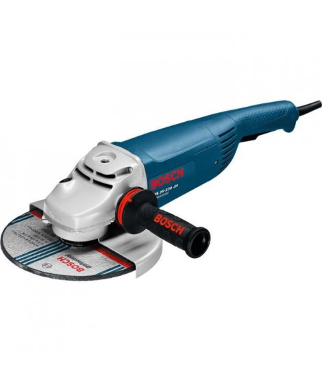 BOSCH GWS26-230JH Professional Meuleuse angulaire a 2 mains - 2 600 W