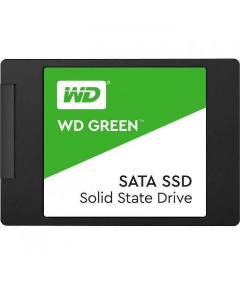 WESTERN DIGITAL SSD WD Green WDS480G2G0A - 2.5 Interne - 480 Go - SATA/600 - 545 Mo/s Taux de transfer maximale en lecture