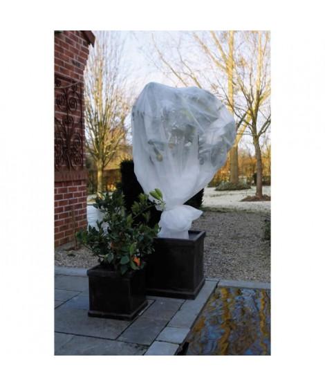 NATURE Voile d'hivernage 30 g/m² - 1 x 10 m - Blanc