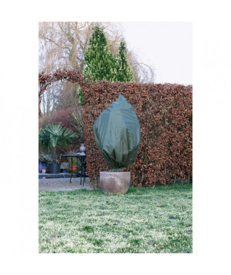 NATURE Housse d'hivernage 50 g/m² - Ø100 cm x 1,50 m - Vert