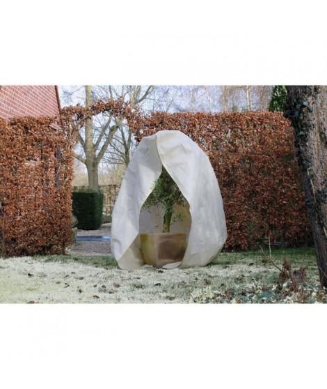 NATURE Housse d'hivernage 70 g/m² - Ø 200 cm x 2,50 m - Beige