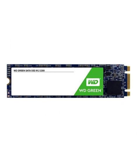 WD Green™ - Disque SSD Interne - 480Go - M.2 (WDS480G2G0B)