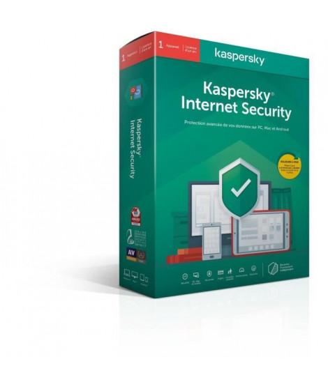 KASPERSKY Internet Security 2020, 1 poste, 1 an