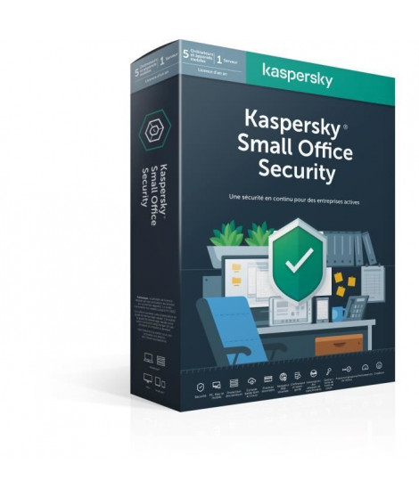 KASPERSKY Small Office Security 7.0 (5 Postes + 1 Serveur)
