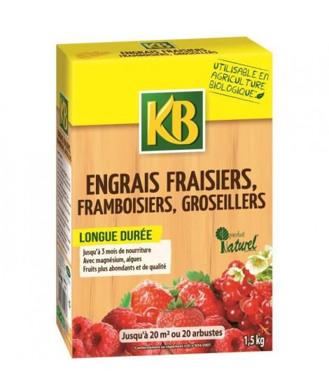 KB UAB Engrais fraisiers bio - 1,5 kg