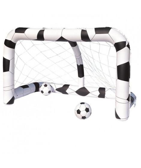 BESTWAY But de football gonflable + ballon - 36 cm de diametre