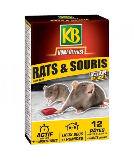 KB Pâte prets a l'emploi anti-rats et souris - 120 g