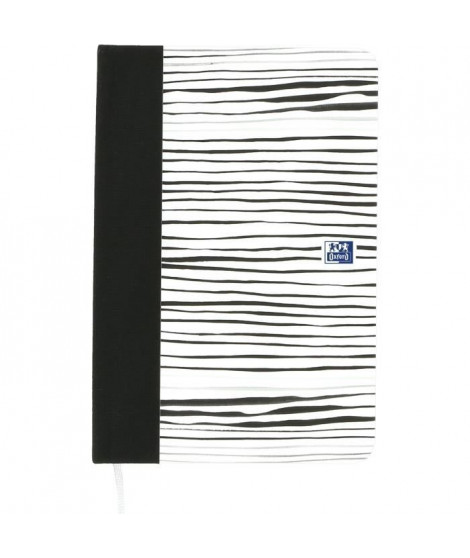 OXFORD Agenda 100738404 - 12 x 18 cm - 1 joura la page - Couverture Rigide - 352 P - Décor Zebra