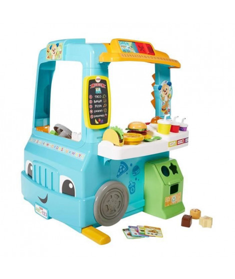 FISHER-PRICE - Le Camion Restaurant de Puppy - 18 mois et +
