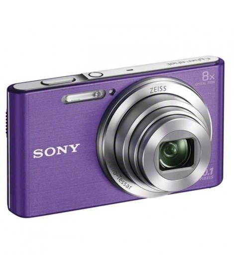 SONY DSCW830V Appareil photo numérique compact 20,1 mégapixels - Violet