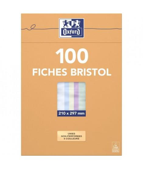 OXFORD 104 feuilles bristol - 29,7 cm x 21 cm x 2,5 cm