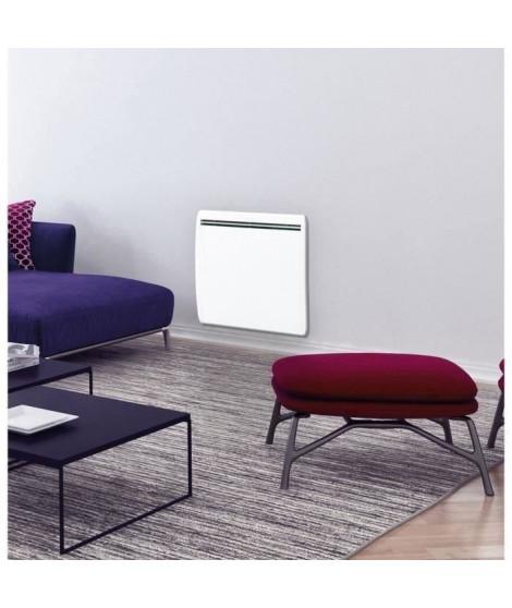CONCORDE Ecodou 1500 watts Radiateur électrique a inertie Fonte + film chauffant - Entierement programmable  LCD - 100 % France