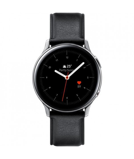 Galaxy Watch Active 2 40mm Acier 4G, Argent