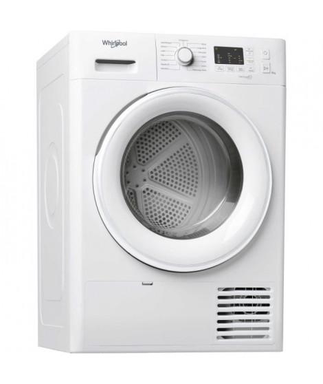 WHIRLPOOL - FTM1081FR - Seche linge - 8 Kg - Pompe a chaleur - A+ - Blanc