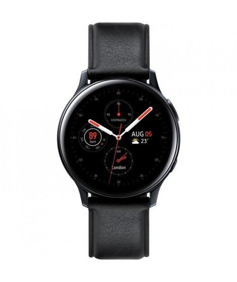 Galaxy Watch Active 2 40mm Acier 4G, Noir Diamant