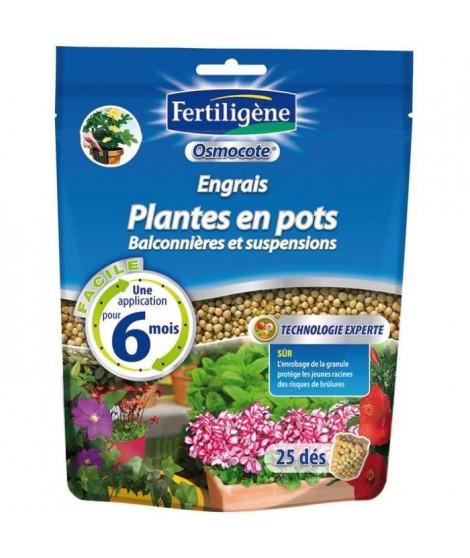 Engrais osmocote plantes en pots doypack de 25 dés