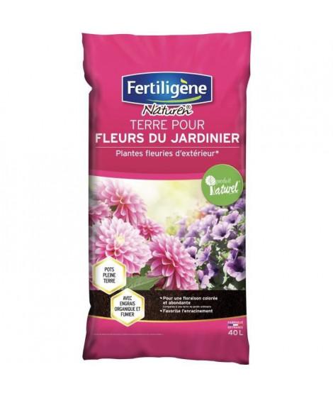 FERTILIGENE Terre pour Fleurs du Jardinier - 40L