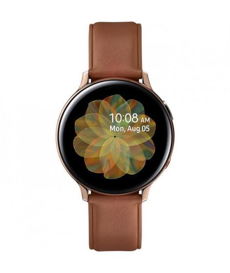 Galaxy Watch Active 2 44mm Acier 4G, Or