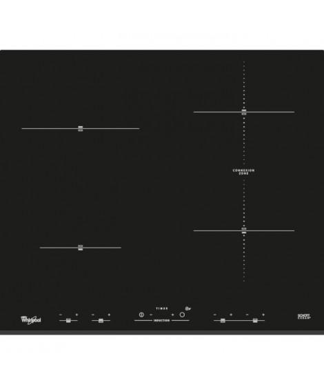 WHIRLPOOL - ACM932BF - Table de cuisson induction - 4 foyers - 7000W - L58 cm x P51cm - Noir