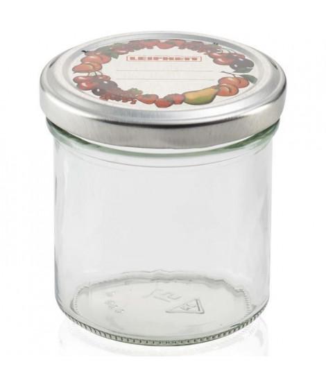LEIFHEIT Pot a confiture - 167 ml - Transparent