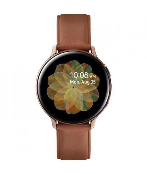Galaxy Watch Active 2 44mm Acier, Or Brillant