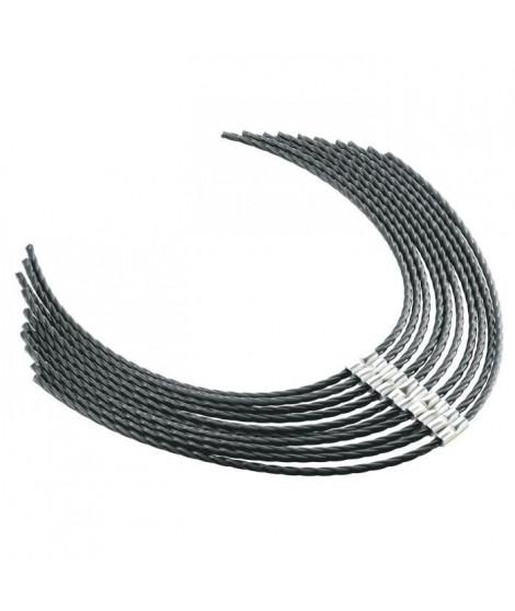 BOSCH 10 pieces de fils pour débroussailleuse AFS 23-37 - Ø 3,5 mm