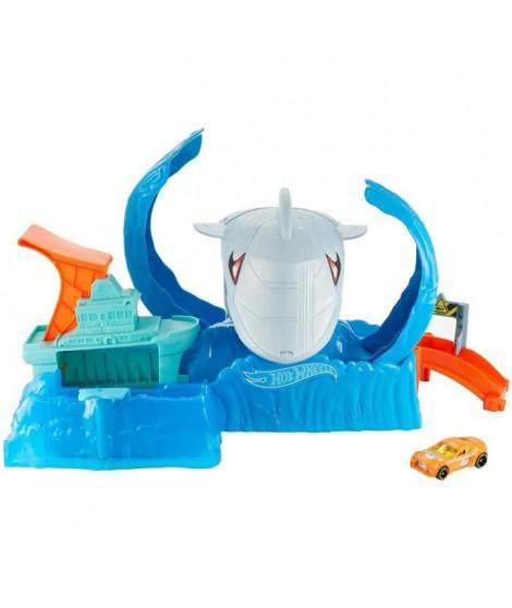 HOT WHEELS Robot Requin en Folie - GJL12 - Coffret Petite Voiture - de 5 a 8 ans