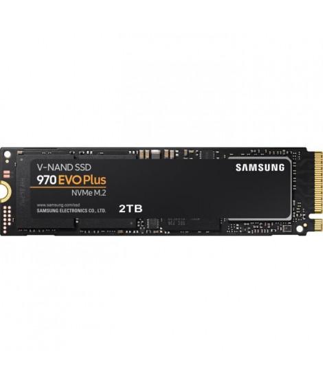 SAMSUNG - SSD Interne - 970 EVO PLUS - 2To - M.2 (MZ-V7S2T0BW)