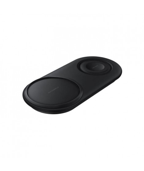 Samsung Chargeur sans fil DUO - USB type - chargeur inclus Noir