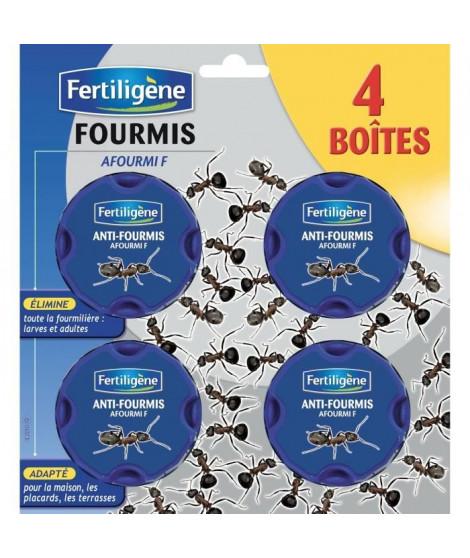 FERTILIGENE Lot de 4 Boîtes appât Anti-Fourmis