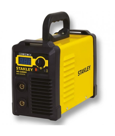 STANLEY Poste a souder - 4609460 - Inverter press - 160 A + Access - Noir/Jaune