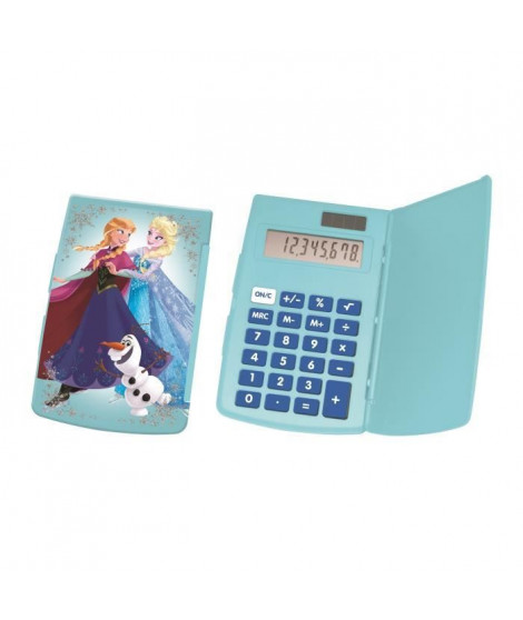 LEXIBOOK - Calculatrice de poche La Reine des Neiges