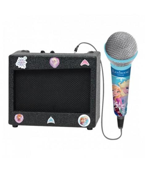 LEXIBOOK - Ampli Portable et Micro La Reine des Neiges U Uni - Fille - A partir de 3 ans
