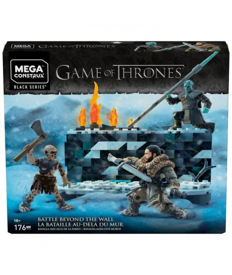 MEGA CONSTRUX Game of Thrones - La Bataille de Winterfell - Briques de construction - 16 ans et +