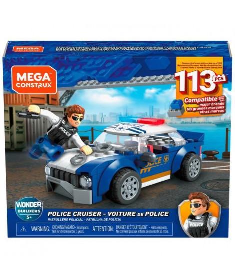 MEGA CONSTRUX Véhicule de Police - GLK52 - Briques de construction - 5 ans et +