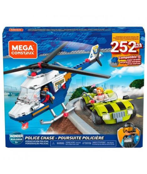 MEGA CONSTRUX Poursuite de Police - GLK55 - Briques de construction - 5 ans et +
