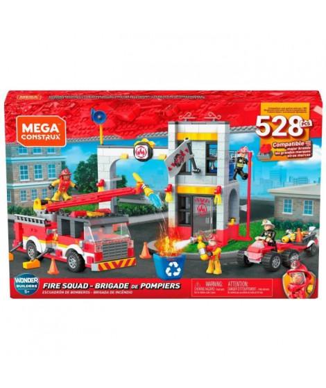MEGA CONSTRUX Caserne de Pompiers - GLK56 - Briques de construction - 5 ans et +