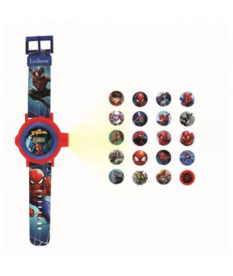 SPIDER-MAN Montre digitale avec projection de 20 images - LEXIBOOK
