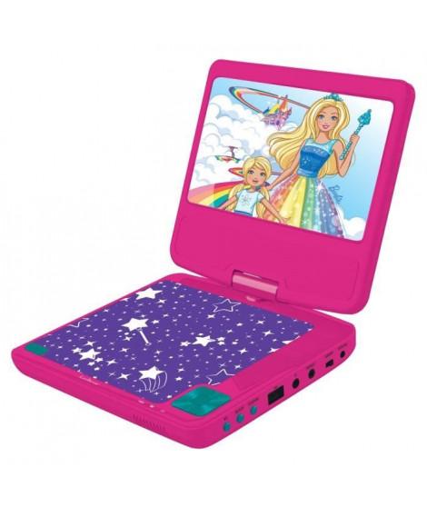 LEXIBOOK Barbie Lecteur DVD Portable pour enfant - DVDP6BB