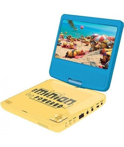 LEXIBOOK - LES MINIONS - Lecteur DVD Portable pour Enfant avec port USB