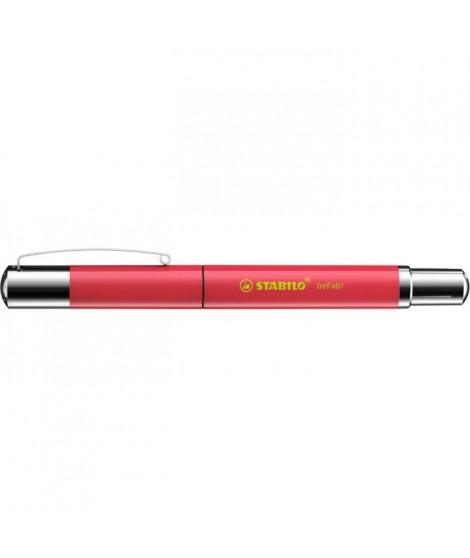 Stylo-plume STABILO beFab! - Collection UNI-COLORS : rouge pasteque
