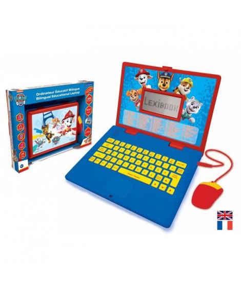 PAT' PATROUILLE Ordinateur éducatif bilingue (FR/EN) enfant LEXIBOOK - 124 activités