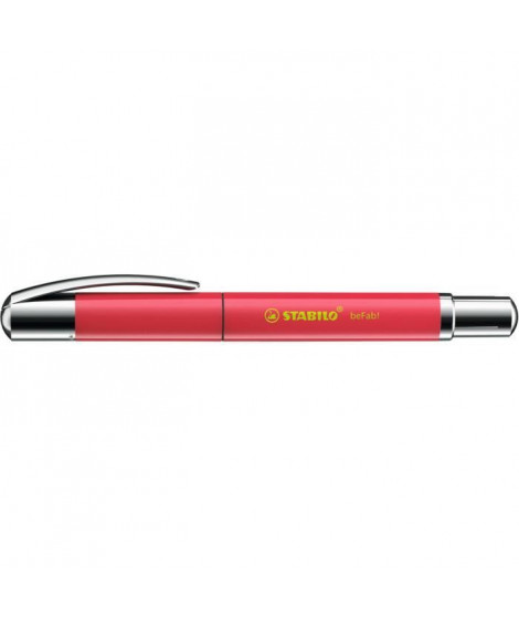 Roller STABILO beFab! - Collection UNI-COLORS : rouge pasteque