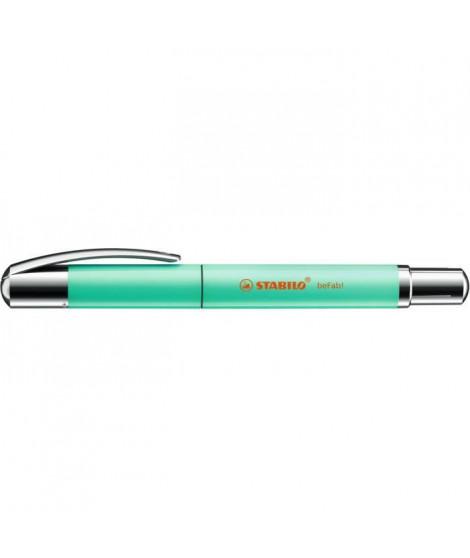 Roller STABILO beFab! - Collection UNI-COLORS : vert menthe