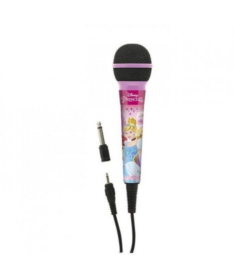 LEXIBOOK - DISNEY PRINCESSES - Microphone, Prise Jack 3.5mm