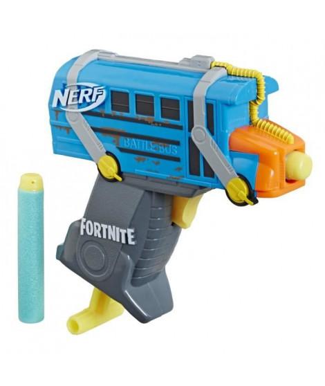 Nerf MicroShots Fortnite Micro Bus de Combat et Flechettes Nerf Elite Officielles