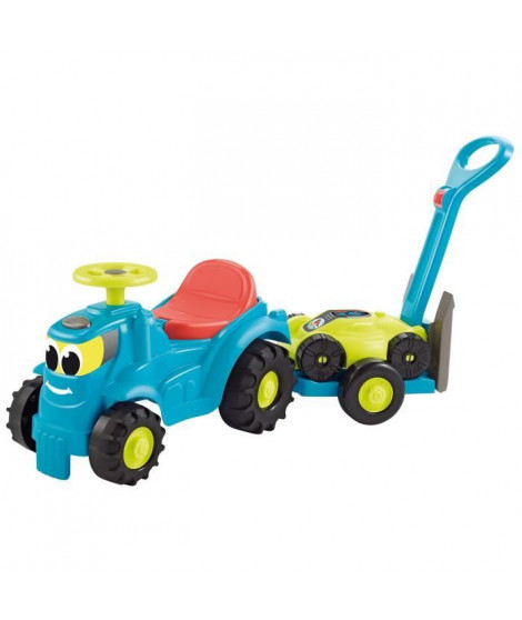 ECOIFFIER - 4350 - Tracteur remorque + tondeuse 103,5 cm