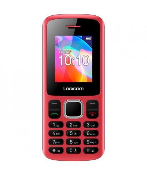 LOGICOM Le Posh Feature Phone Rouge blister 32 Mo