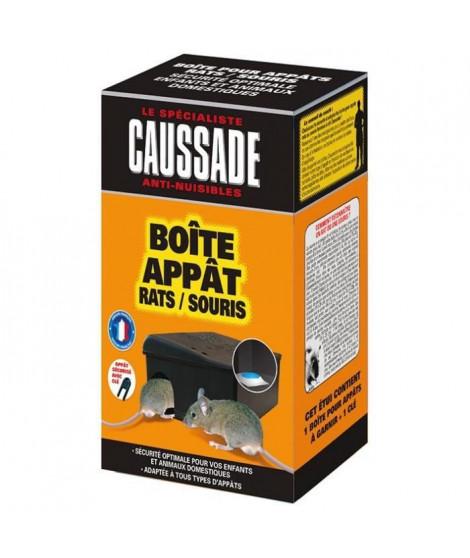 CAUSSADE Boîte appât avec clé de fermeture - Pour rats & souris