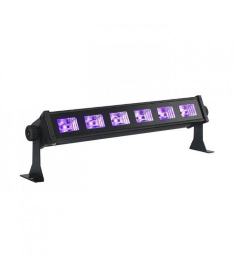 IBIL LED-UVBAR6 Barre a led uv 6 x 3w - Noir